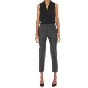 NWT Theory Wool Blend Charcoal Grey Ankle Pants